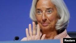 Directora do FMI Christine Lagarde