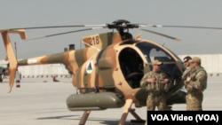 د افغانستان د دفاع وزارت وایي چې پنځه نورې ورته هلیکوپترې به د جولای په میاشت کې د امریکا د پوځ له خوا افغان پوځ ته وسپارل شي.