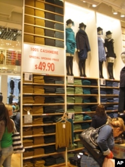 Uniqlo now has three stores in New York.
