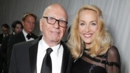 Rupert Murdoch fejohet me ish modelen Jerry Hall
