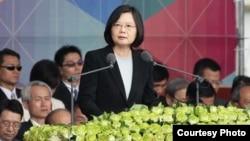 台湾总统蔡英文(台湾总统府官网截图)