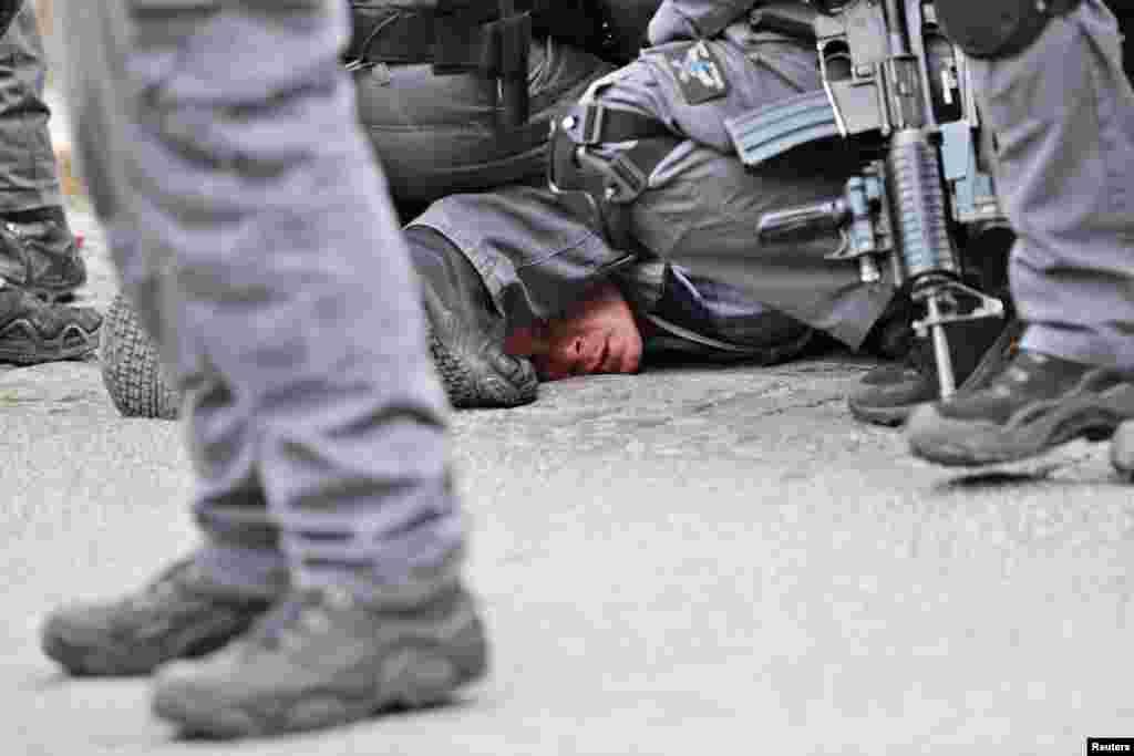 İsraeil - Qüdsdə fələstinlilərlə polis arasında qarşıdurma