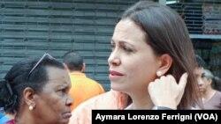 Machado asegura que seguirá luchando por la liberación de los presos políticos.