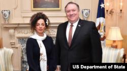 سایت «سفارت مجازی ایالات متحده در ایران» عکس این دیدار را منتشر کرد.