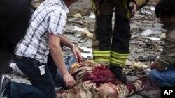 Pomoć žrtvama napada u Oslu, 22. srpnja 2011.