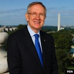 Senator Harry Reid, pemimpin mayoritas di Senat AS, dari negara bagian Nevada.
