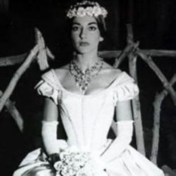Maria Callas sang in about 40 major operas.