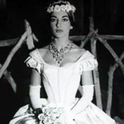 Maria Callas sang in about 40 major operas.