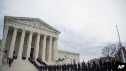 Public Pays Respects to U.S. Supreme Court Justice Antonin Scalia