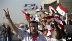 시리아의 반정부 시위대