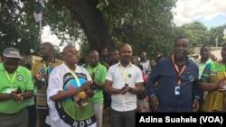Daviz Simango pede redução dos poderes do Presidente da República