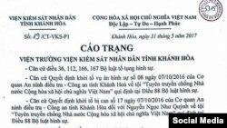 Bản cáo trạng đối với Blogger Mẹ Nấm - Facebook Nguyen Thi Tuyet Lan
