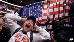 Trump llegó a la convención con el mayor número de delegados —1.542 en total—.