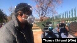 Zimbabwe Journalist Hopewell Chin'ono