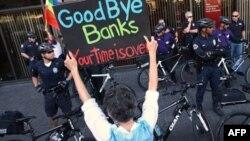 Protesti protiv velikih banaka u SAD