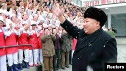 Shugaban Koriya ta Arewa Kim Jong Un.