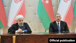 Ilham Əliyev və Həsən Ruhani