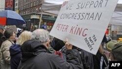 У Нью-Йорку пройшла демонстрація на підтримку ініціативи Кінґа