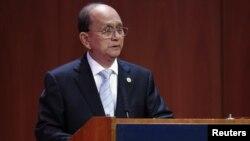 برما کے صدر تھین سین(فائل)