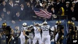 El encuentro de fútbol americano entre Navy y Air Force, se llevará a cabo en Annapolis, Maryland, cerca de Washington DC.
