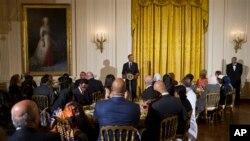 ضیافت افطار کاخ سفید در رمضان سال گذشته