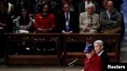 Đức Đạt Lai Lạt Ma phát biểu tại Thánh đường Quốc gia ở thủ đô Washington, 7/3/2014
