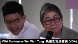 香港前立法會議員吳靄儀 (攝影:美國之音湯惠芸)