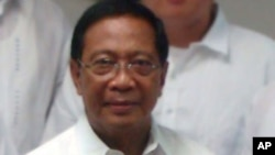 ຮອງປະທານທິບໍດີຟີລິບປິນ ທ່ານ Jejormar Binay