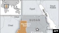 苏丹达尔富尔地理位置图