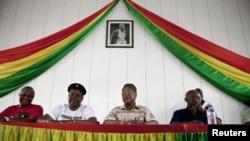 Membros do PAIGC - Partido Africano para Independencia da Guiné e Cabo-Verde - Arquivo