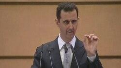 بشار اسد «توطئه خارجی» را مسئول ناآرامی می داند