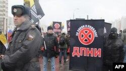 «Русский марш» в День народного единства. Москва. Россия. 4 ноября 2010 года