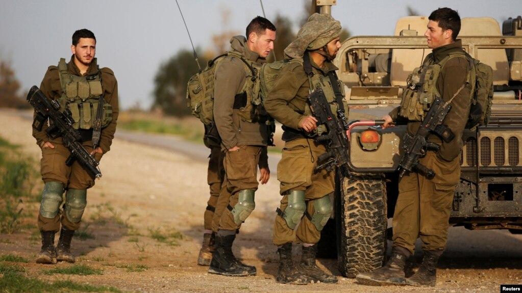 Image result for इजरायली सैनिकों