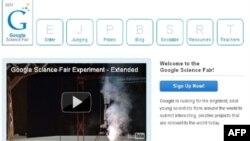 Ứng viên chỉ cần vào trang web 'Google's Science Fair' sẽ có thông tin cho biết cách nạp đơn