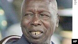 L'ancien chef de l'État kényan Daniel arap Moi.