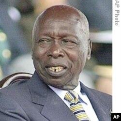 Rais mstaafu wa Kenya Daniel Arap Moi.