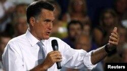羅姆尼7月18日在俄亥俄州發表演講挑戰總統奧巴馬