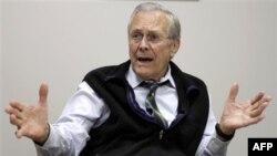 Дональд Рамсфелд. Январь 2011г.