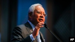 Perdana Menteri Malaysia Najib Razak (AP Photo/Joshua Paul)