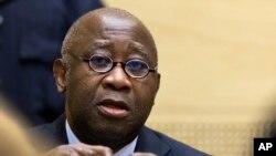 L'ancien président ivoirien, Laurent Gbagbo.CPI, 19 février, 2013.