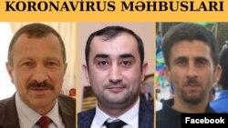 Tofiq Yaqublu, Anar Məlikov və Samir Babayev (Kollaj Əli Kərimlinin səhifəsindəndir)