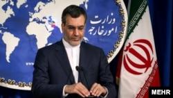 حسین جابر انصاری سخنگوی وزارت امور خارجه ایران - آرشیو