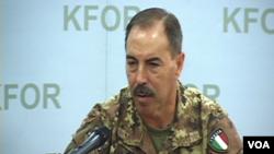 Komandant KFOR-a, Salvatore Farina, 1. septembar 2014.