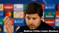 L'entraîneur de Tottenham, Mauricio Pochettino, le 21 novembre 2016.