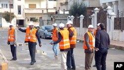 阿拉伯国家联盟观察员1月3号在叙利亚检查