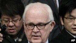 지난 1월 방한 당시 보즈워스 미 대북 특사