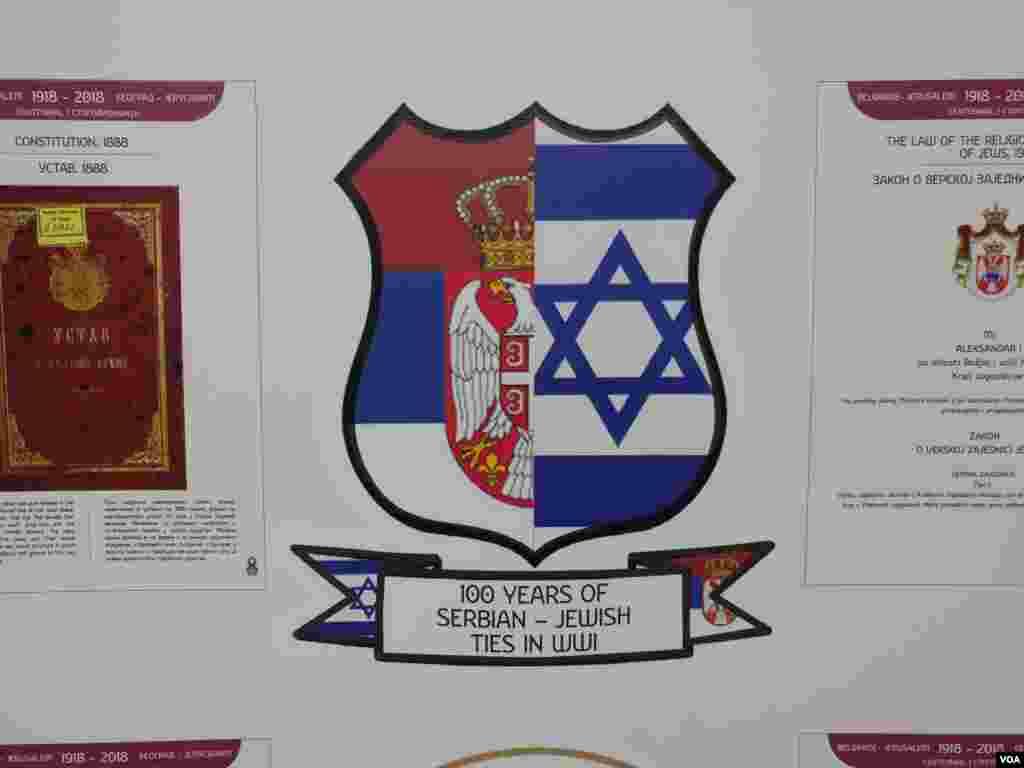 Izložba povodom 100 godina srpsko-američkog savezništa i savezništva Jevreja i Srba