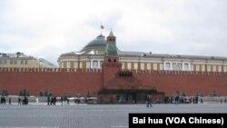 莫斯科红场,克里姆林宫和列宁墓