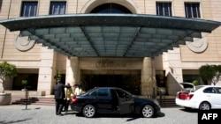 "Hotel ""Michelangelo"" em Sandton no subúrbio de Joanesburgo"