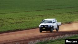 Một khu đất nông nghiệp ở Condobolin, cách phía Tây Sydney gần 500km.